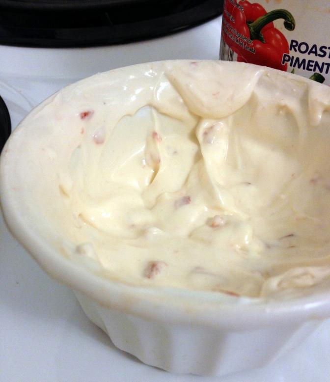 Red Pepper Dip (Dairy free and vegan)