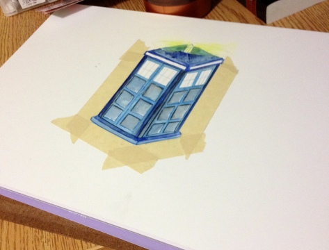 TARDIS in progress